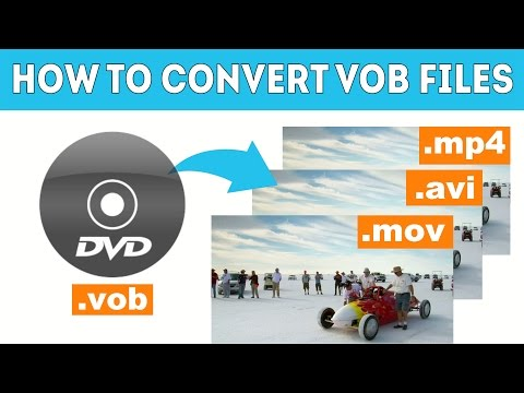 How to Convert a VOB File? - Movavi Video Converter 15