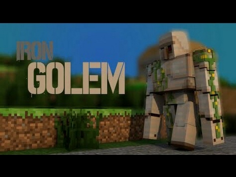 How to spawn Iron golem and how to tame it in Minecraft||Minecraft PE.