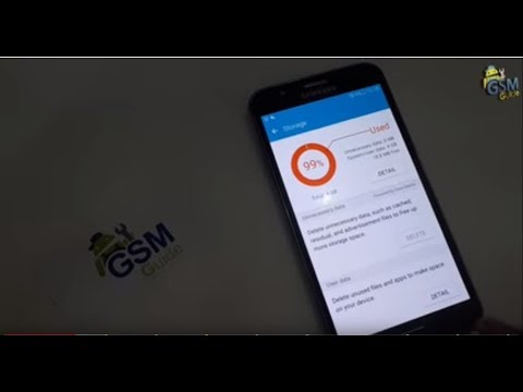 Storage Space running out almost full on Samsung Galaxy 2016/2017 How to Fix Error -Gsm Guide