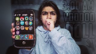 DO NOT USE A SIRI VOODOO DOLL AT 3:00 AM | *THIS IS WHY | 3 AM VOODOO DOLL CHALLENGE (I HURT SIRI!)