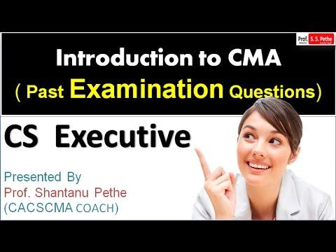 CMA=PEQ=01=Introduction to CMA