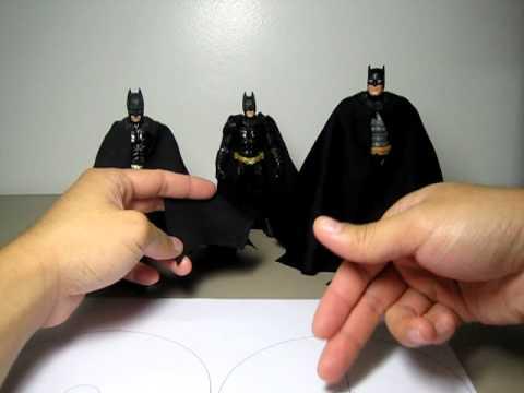How to make a Batman custom cape
