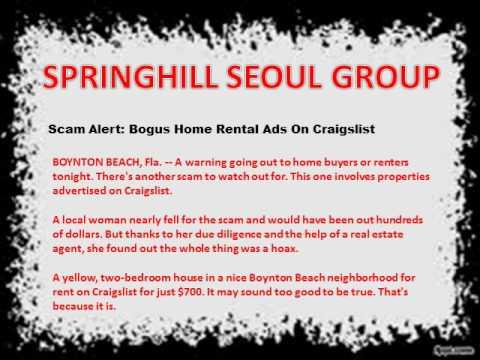 Scam Alert: Bogus Home Rental Ads On Craigslist