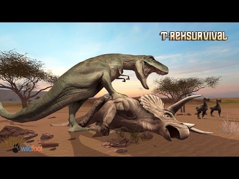 #T-Rex Survival Simulator # Wild Foot Games# Adventure - #iTunes/#Google Play
