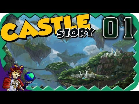 CASTLE STORY | Zuma Invasion Fortress Building | Let's Play Castle Story Gameplay