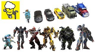 Transformers Movie 5 The Last Knight Toys with Optimus Prime Bumblebee Hot Rod トランスフォーマー 變形金剛