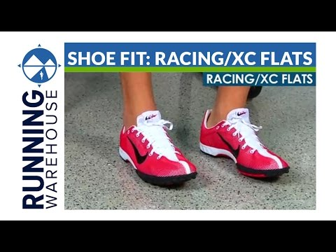 Competition Shoe Fit: Racing/XC Flats