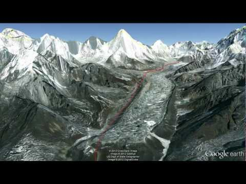 Everest Education Expedition Google Earth Flyover