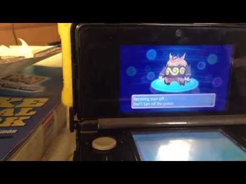 Pokemon mystery gift codes