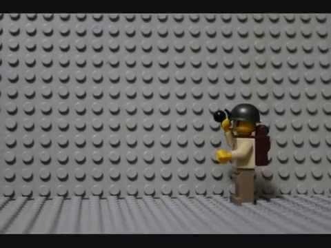 Lego Grenade Test