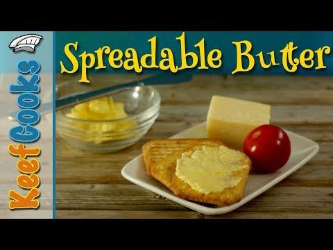 Homemade Spreadable Butter | Make Butter From Scratch