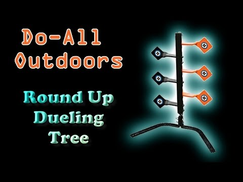 Review:  Do-All Outdoors - Round Up .22 / .17 caliber Dueling Tree Steel Target
