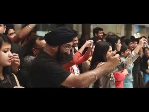 Opera Mini flash mob in India
