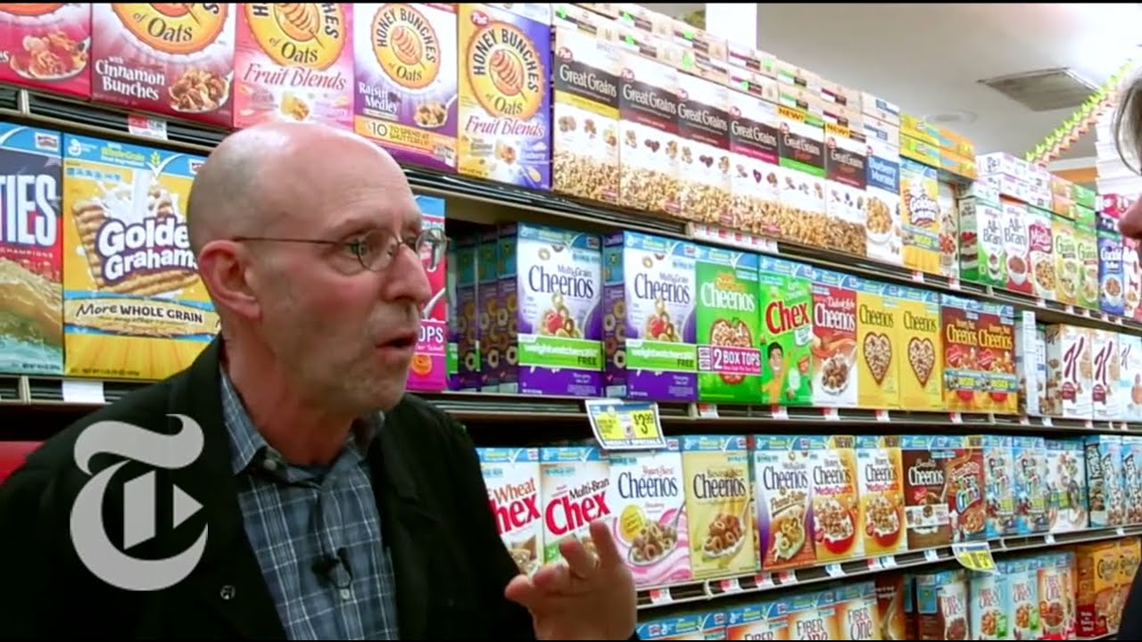Navigating the Supermarket Aisles With Michael Pollan and Michael Moss   The New York Times
