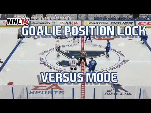 NHL 14 Versus Mode #1 || GOALIE POSITION LOCK VS. CANADIANDUKE