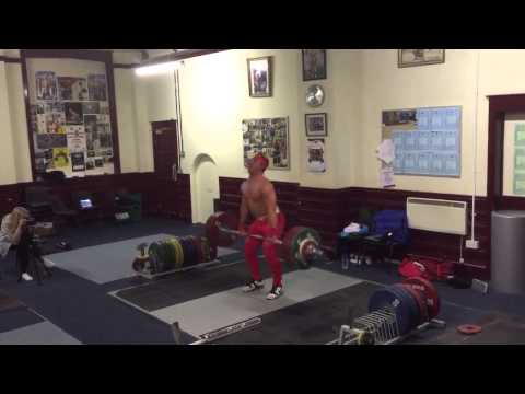 Sonny Webster weightlifting training video 28/10/14