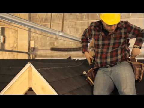 Asphalt Shingle Roofing Part 12: Cap Shingles (Ridge)