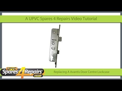 Replacing a Avantis Upvc Door Lockcase