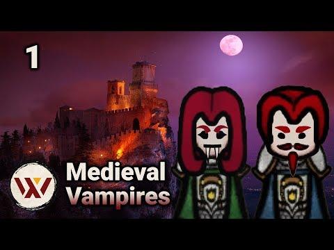 Medieval Vampires #1 - Rimworld Intense Let's Play Gameplay! Beta 18
