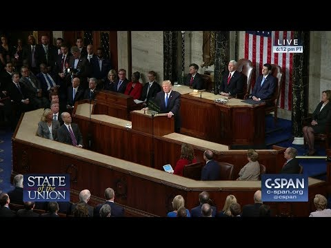 President Trump 2018 State of the Union Address (C-SPAN)