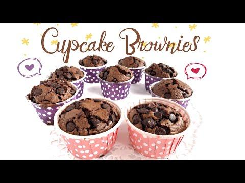 Easy Brownies Cupcake