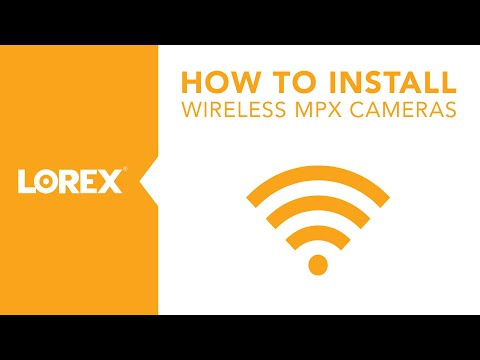 How to Install the LW3211 Wireless Security Camera From Lorex