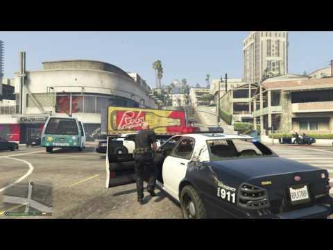 LSPDFR 1st Day Police Duty(GTA V)