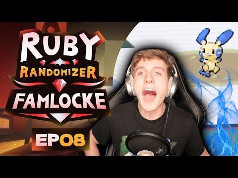 CURSE YOU MINUN!! | Pokemon Ruby Randomizer Famlocke EP 8