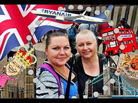 ♥♥♥ VLOG Anglie 2016 - Coventry, Stratford Upon Avon, LONDON ♥♥♥