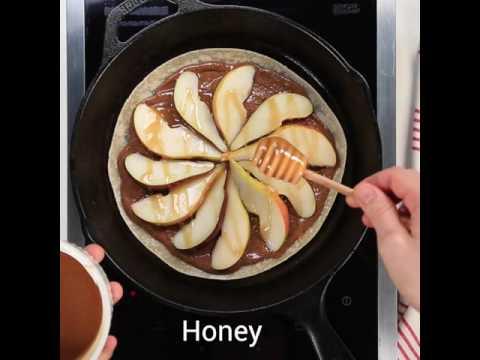 Honey-Pear Quesadilla