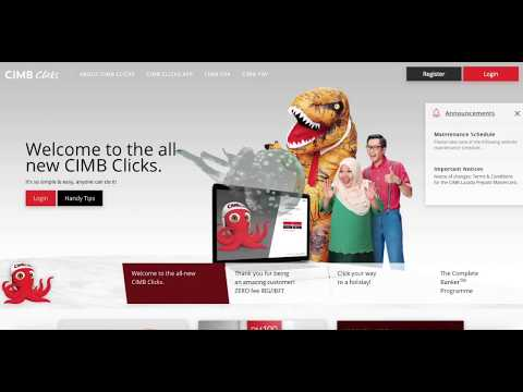 How to Make Scheduled Payment Weekly with CIMB Bank | Auto Debit, Standing Instructions