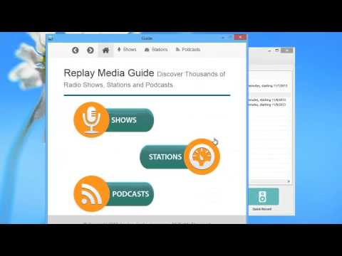 Using Replay Radio 9 as a Tuner to Enjoy Your Favorite Radio Stations