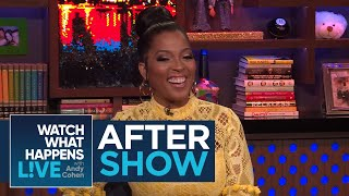 After Show: Dr. Contessa Metcalfe's Navy Background   WWHL