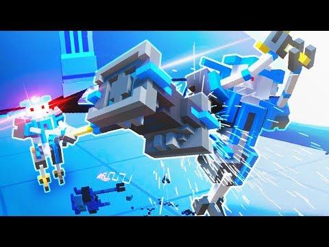 INSANE YOUTUBER BATTLES!! CLONE DRONE MULTIPLAYER VS GAMINGFTL! (Clone Drone Multiplayer Update)