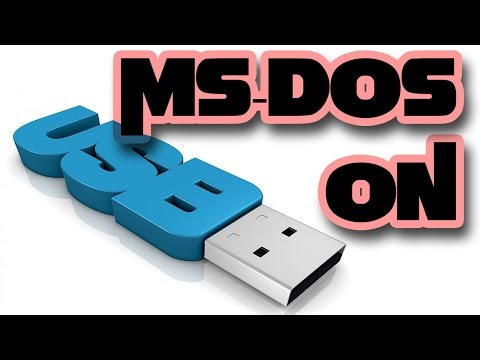 Install Ms-Dos Onto Usb Flash Drive - 2015