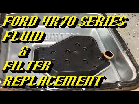 Ford 4R70W Series Transmissions: Fluid & Filter Change