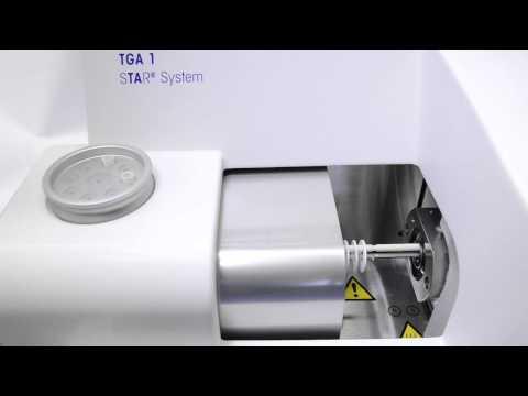 TGA Curie point temperature calibration