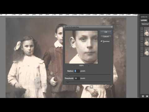 Photoshop Elements: Restore Vintage Photos