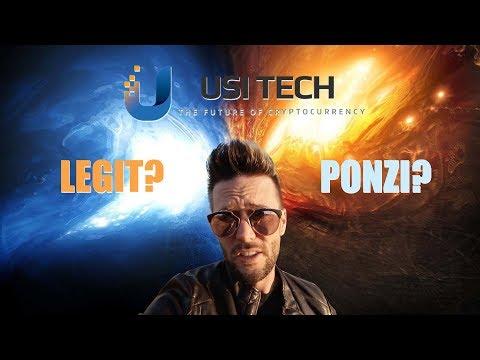 USI Tech - Legit or Ponzi?