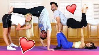 COUPLES YOGA CHALLENGE!!