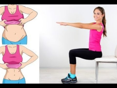 5 Chair Exercises That Will Reduce Your Belly Fat While You Sit - LOSE WEIGHT FAST