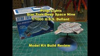 Polar Lights Star Trek Klingon Ktinga 1/350 Scale Model Kit