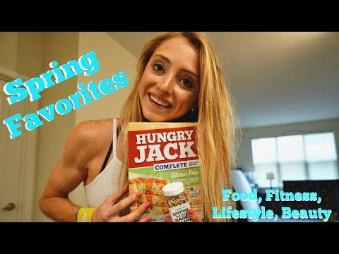 Spring Favorites|Food, Fitness, Lifestyle, Beauty
