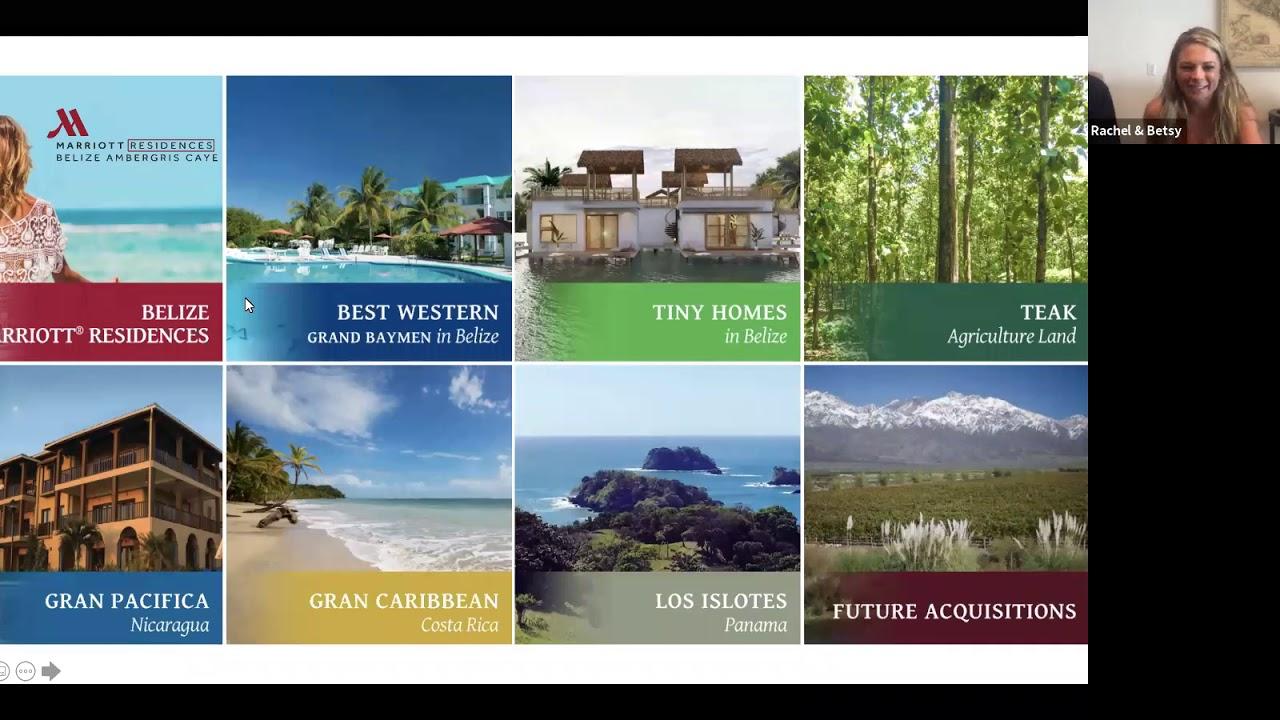 Inventory Update at ECI Development Properties - Belize, Nicaragua, Panama
