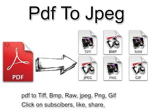 pdf to jpg convert in photoshop 7