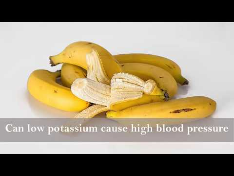 Can low potassium cause high blood pressure