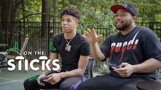 If NLE Choppa Loses to Akademiks in 'FIFA 20' He'll Do Running Drills | On The Sticks