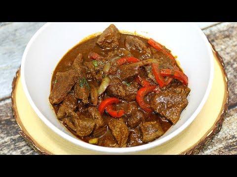 Carne De Res Guisada - Dominican Beef Stew