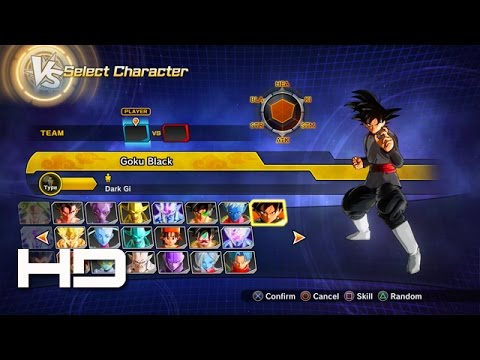 DRAGON BALL XENOVERSE 2 - All Characters, Costumes & Stages