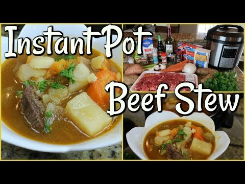 BEEF STEW | INSTANT POT PRESSURE COOKER | RECIPE | HOW TO
